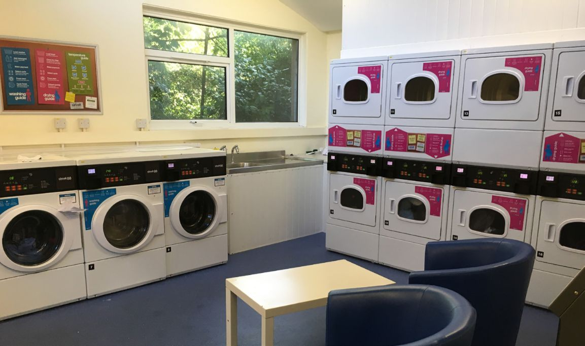 The Loring Hall laundry facility, best place to make friends and spend all your money