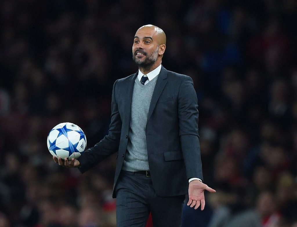 Pep Guardiola, Man City Head Coach