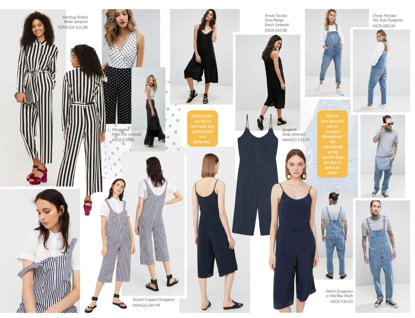 c549fd2bd817 Equally, for a more casual affair, a jumpsuit is the perfect item to get  you out of your jeans and t-shirt rut at long last. Sporting a jumpsuit can  have ...