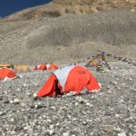 Fig. 6 – My personal tent at BC
