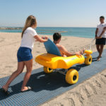 Accessibility Equipment inlcuding Mobimat and Beach Attendants at Easter…