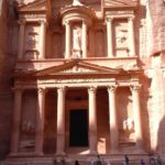 The mausoleum itself – the most famous of Petra's landmarks.
