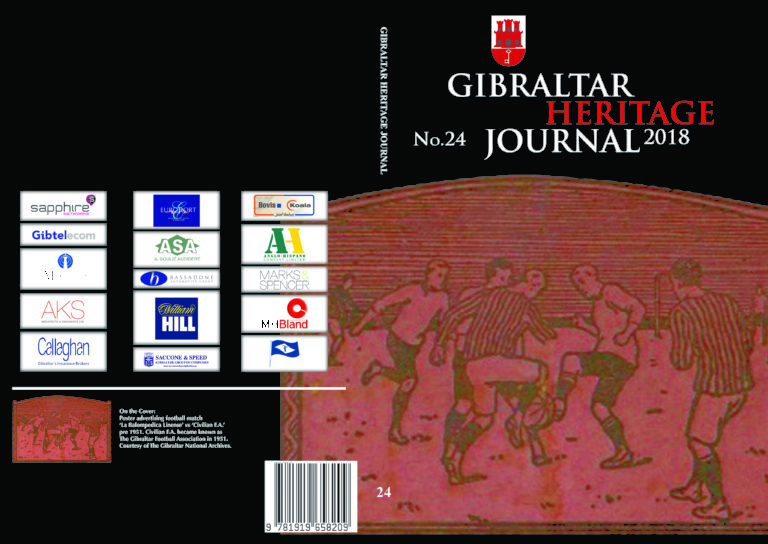 GIBRALTAR HERITAGE JOURNAL No.24 IN STORES NOW