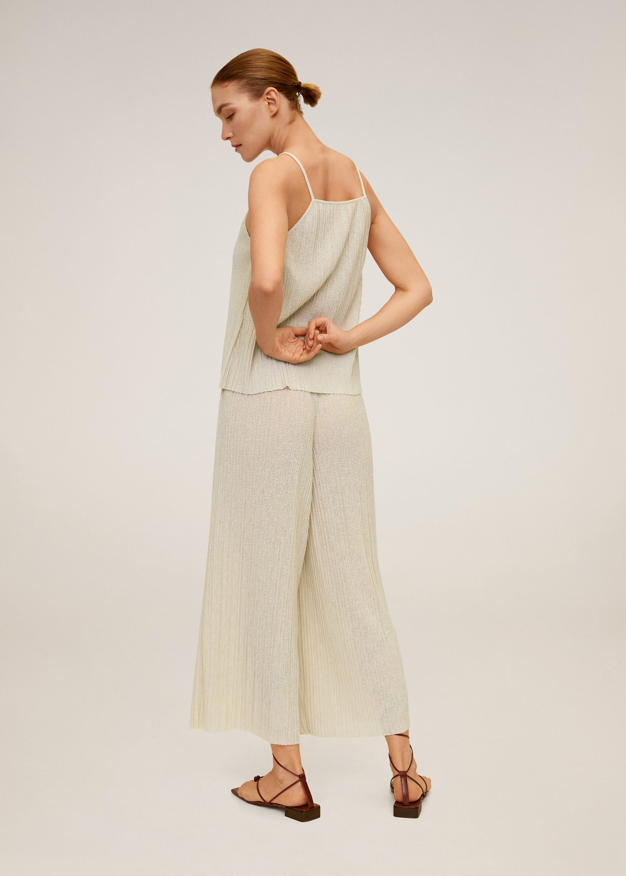 Pleated culotte trousers, Mango, £25.99
