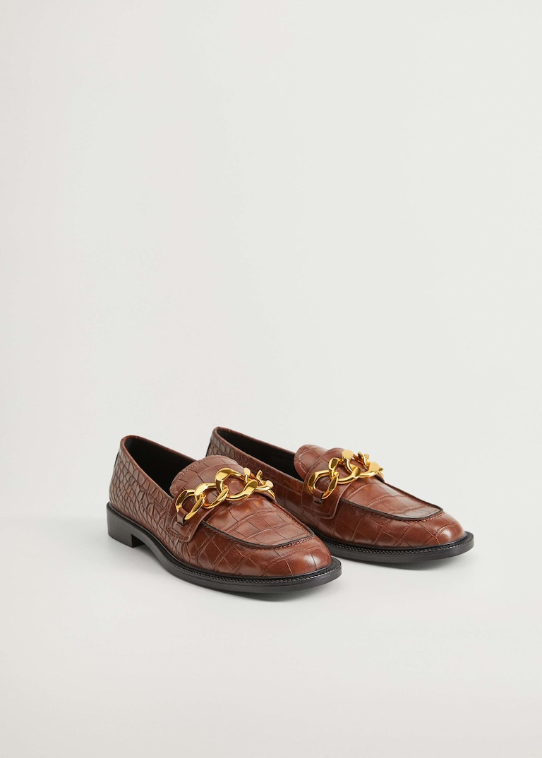 Chain loafers, Mango, £49.99