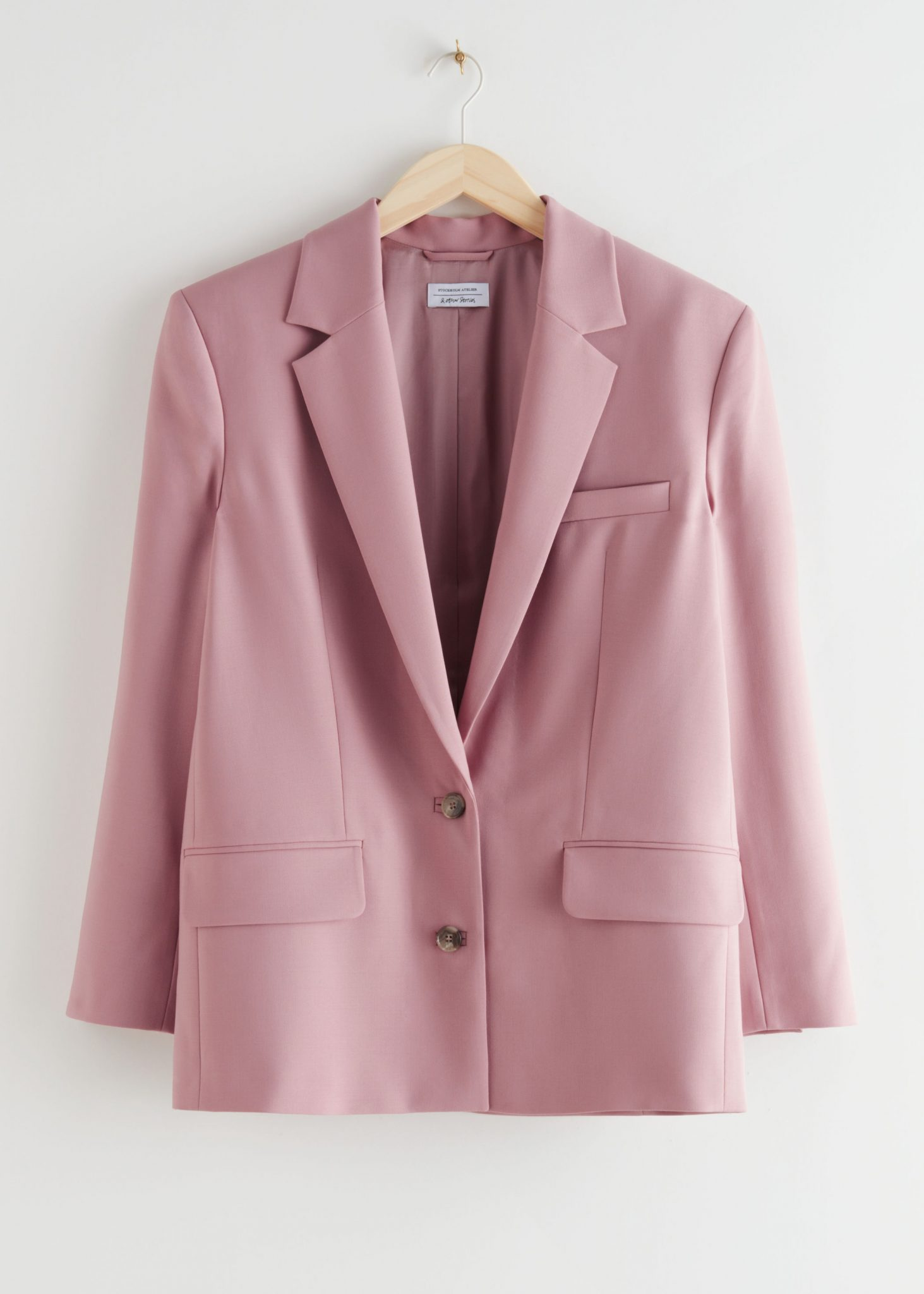 Boxy Single Breasted Blazer, & Other Stories, £165.00