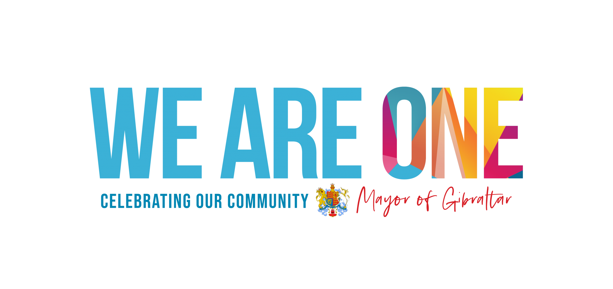 Long Version – We Are One Logo