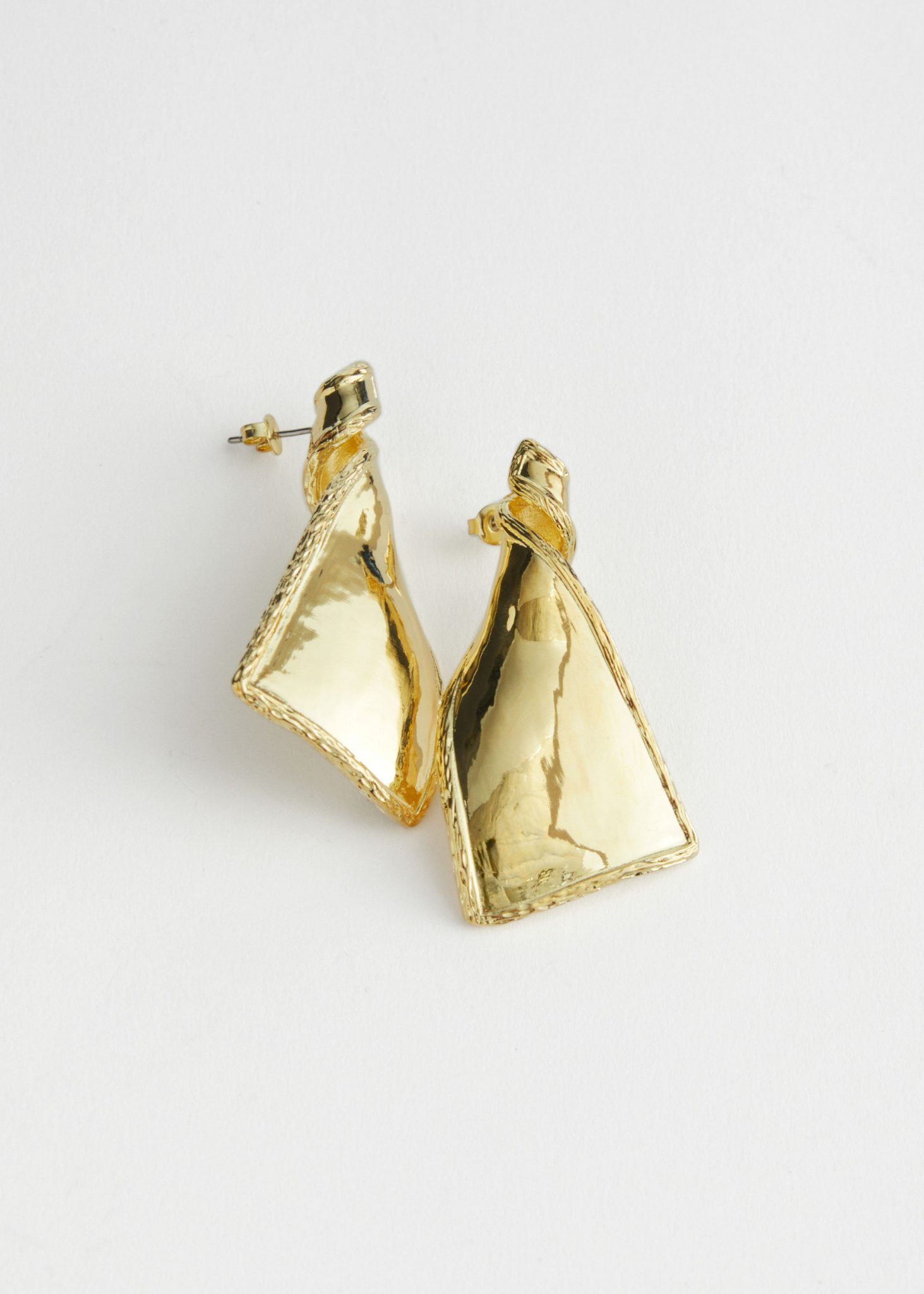 Twisted Pendant Earrings, & Other Stories, £27.00